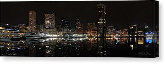 Baltimore Harbor Canvas Print