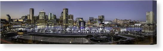 Baltimore Inner Canvas Print