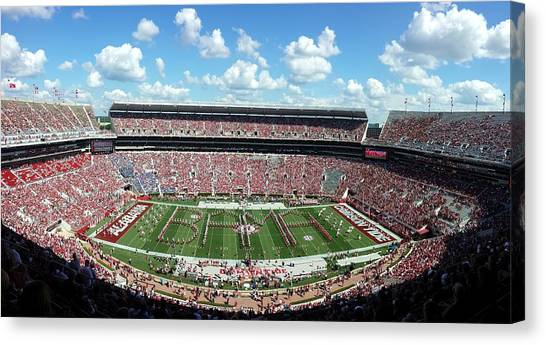 Bama Spell-out Panorama Canvas Print
