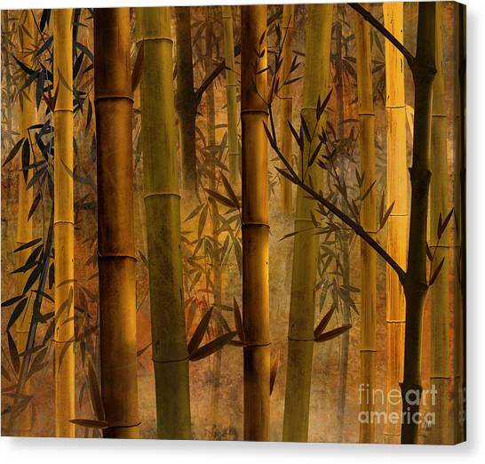 Bamboo Canvas Print - Bamboo Heaven by Peter Awax