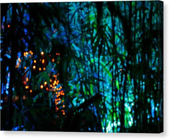Bamboo Riot Canvas Print