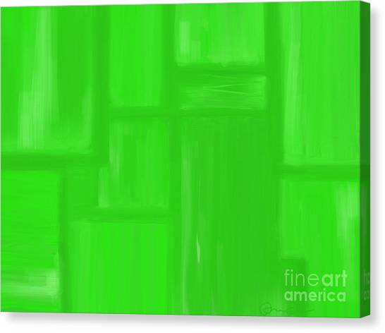 Bamboo Canvas Print by Roxy Riou