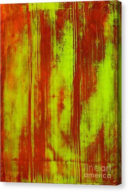 Bamboo Spy  1 Canvas Print by Teo Santa