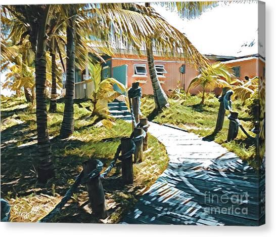 Banana Bay Canvas Print