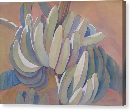 Banana Series 26 Canvas Print by Carol McDonald