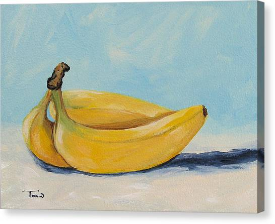Bananas Canvas Print