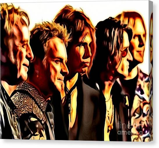 Band Who Canvas Print