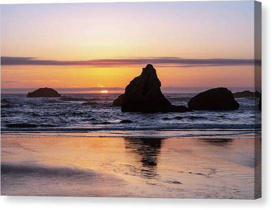 Bandon Glows Canvas Print