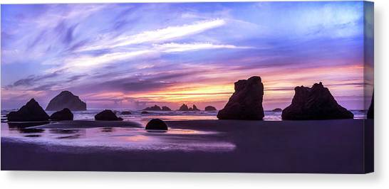 Bandon On Fire Canvas Print