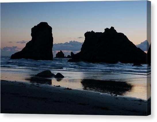 Bandon Oregon Sea Stacks Canvas Print