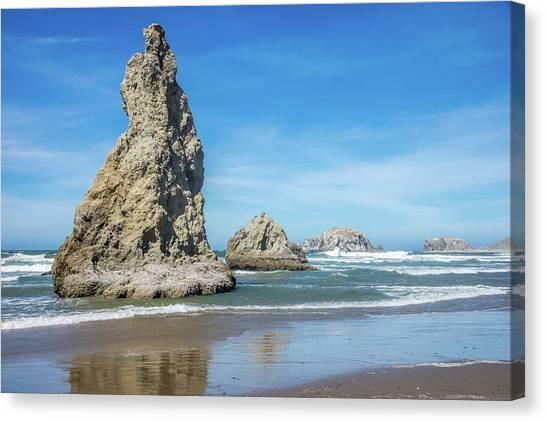 Bandon Rocks Canvas Print