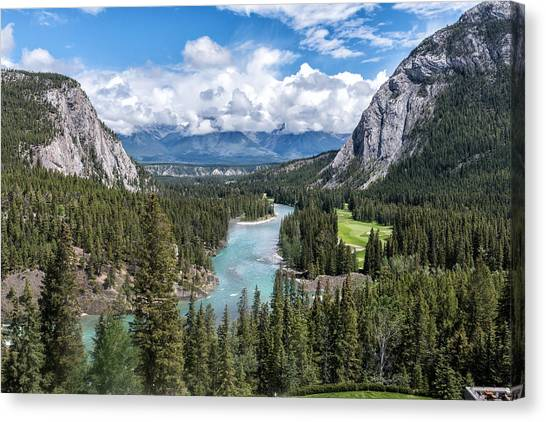 Banff - Golf Course Canvas Print