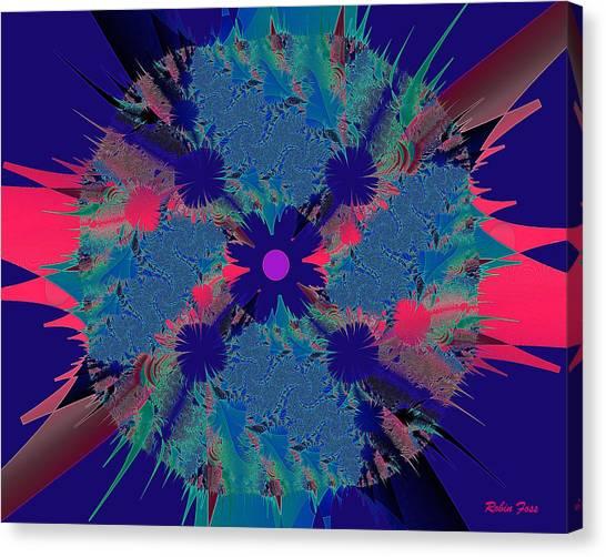 Bang Canvas Print by Robin Foss