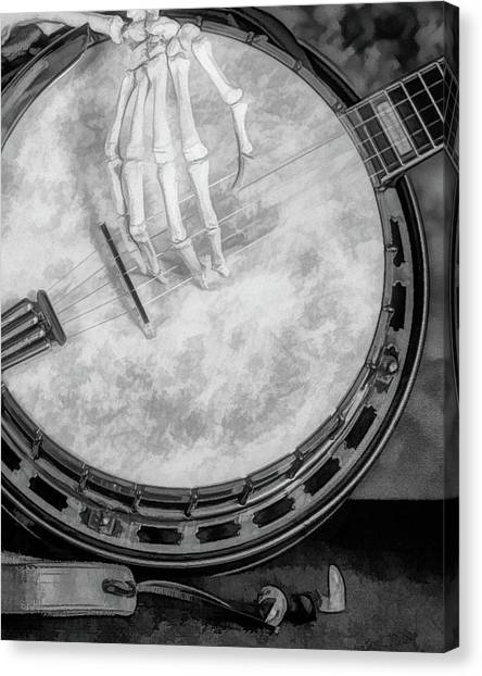 Star Trek Canvas Print - Banjo Addiction by Tom Mc Nemar