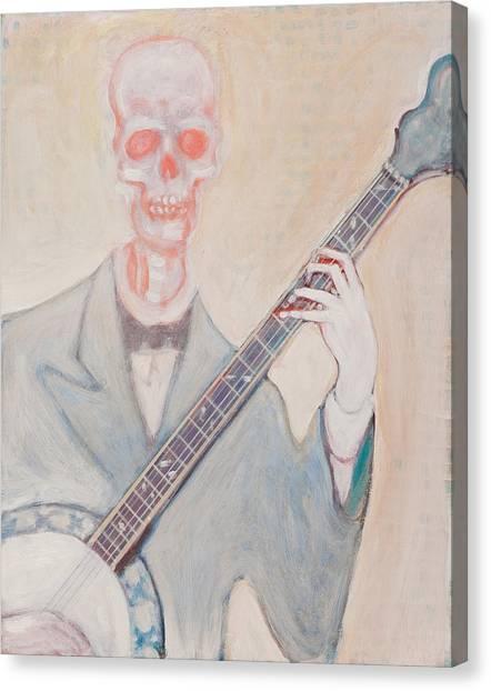 Banjo Bones Canvas Print
