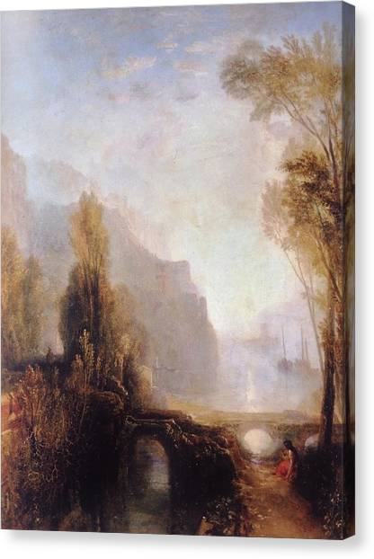 Banks Of The Loire Canvas Print