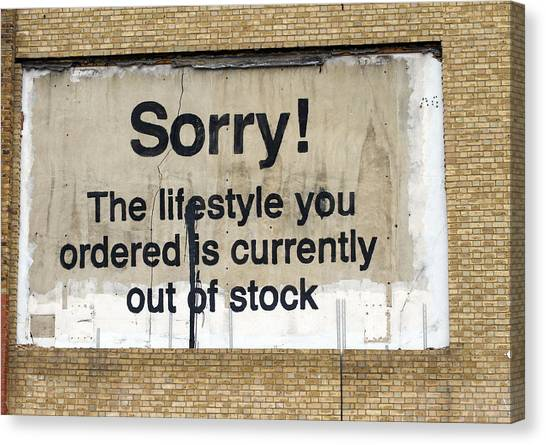 Canvas Print - Banksy by Fizzy Image