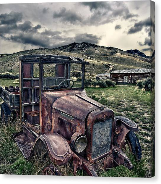 Bannack International - Square Canvas Print by Renee Sullivan