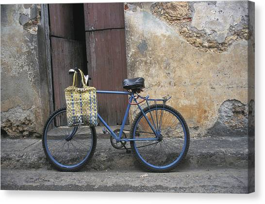 Baracoa Bicycle Canvas Print