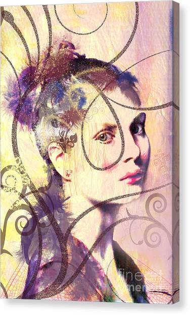 Barbara Blue Canvas Print