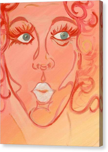 Barbara Canvas Print by Robin Antoinette Breeden