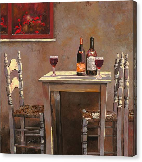 Red Wine Canvas Print - Barbaresco by Guido Borelli