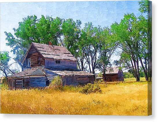 Barber Homestead Canvas Print