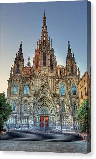 Barcelona Cathedral Canvas Print