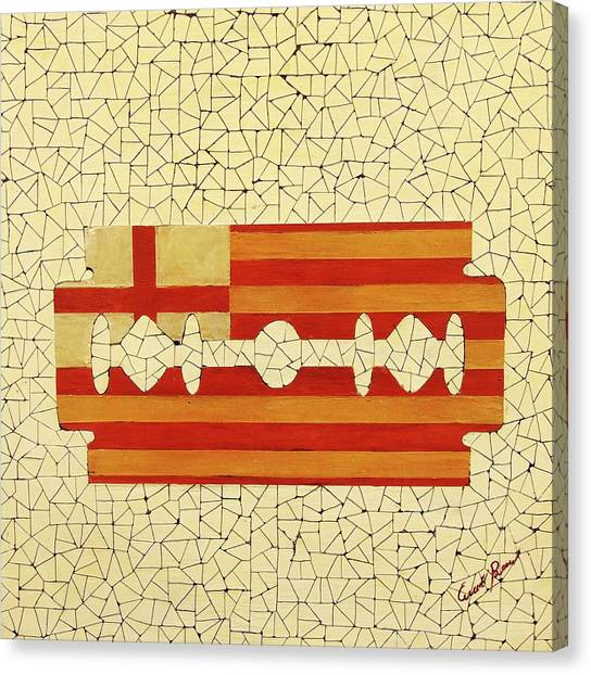 Barcelona Canvas Print by Emil Bodourov