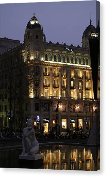 Barcelona Spain Canvas Print