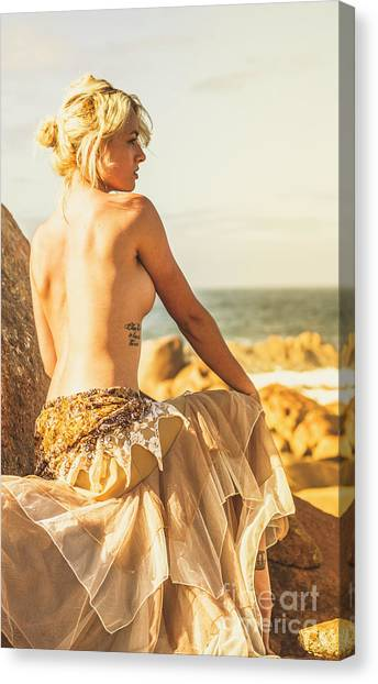 Bare Elegance Canvas Print