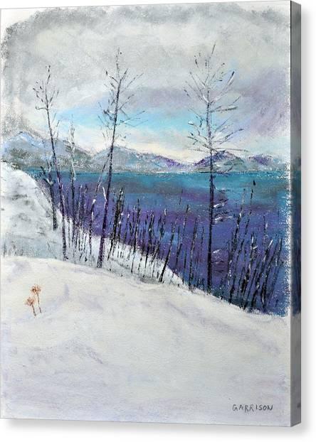 Bare Canvas Print by Marina Garrison