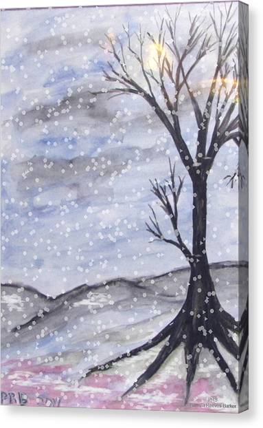 Canvas Print - Bare Winter Mix by Pamula Reeves-Barker