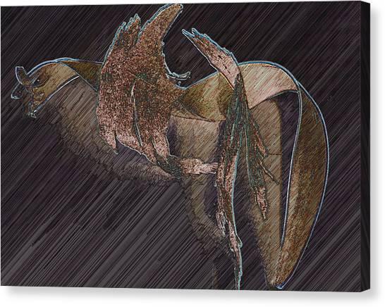 Barkdark Canvas Print by Klee Miller