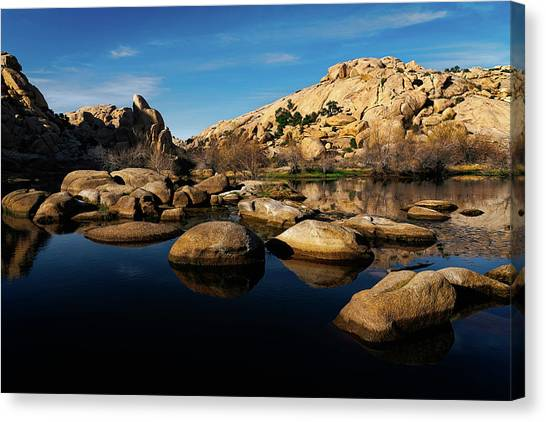 Barker Dam Lake Canvas Print