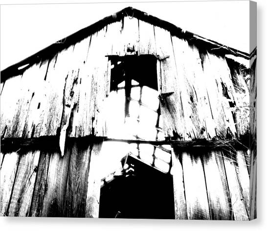 Barn Canvas Print - Barn by Amanda Barcon