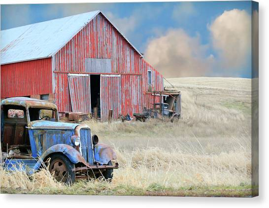 Canvas Print - Barn Finds by Steve McKinzie