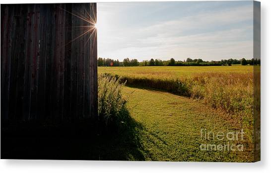Barn Highlight Canvas Print