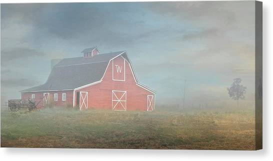 Barn, Longmont, Colorado Canvas Print