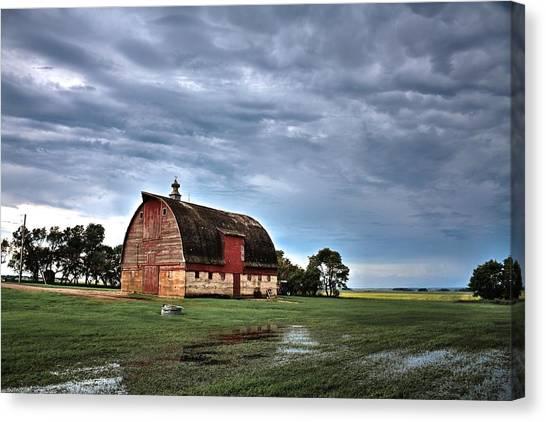 Barn Storming Canvas Print