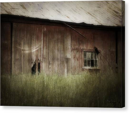 Barn West Canvas Print