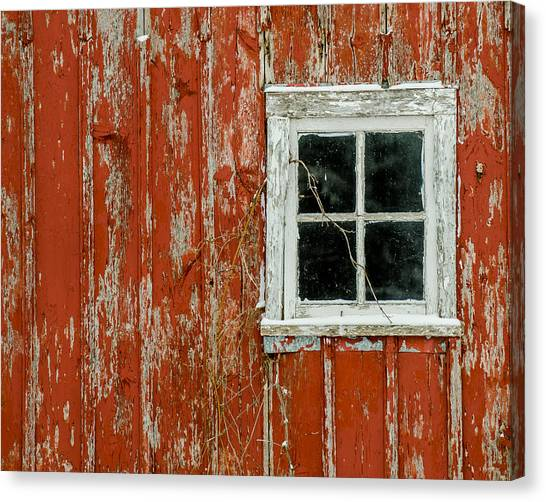 Barn Window Canvas Print