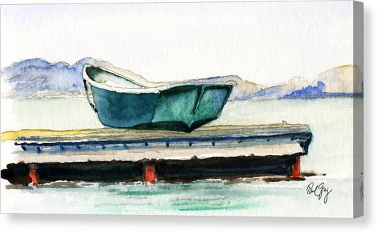 Barnstable Skiff Canvas Print