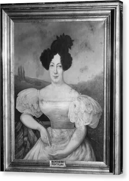 Baroness De Pontalba Canvas Print
