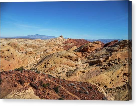 Barren Desert Canvas Print
