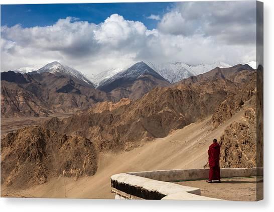 Barren Himalayas Canvas Print
