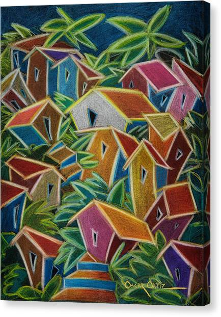 Barrio Lindo Canvas Print