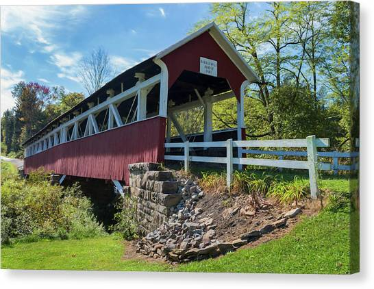 Barronvale Bridge  Canvas Print