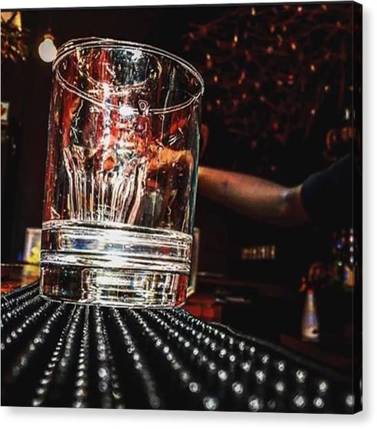 Bartender Canvas Print - Bartender In Training... #bartender by Devin Workman