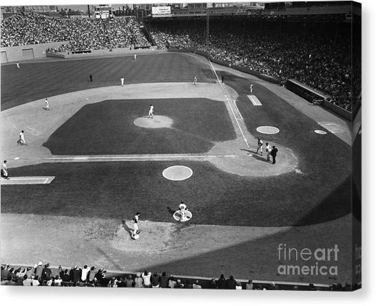 Minnesota Twins Canvas Print - Baseball Game, 1967 by Granger